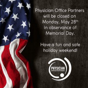 Memorial Day Office Closing